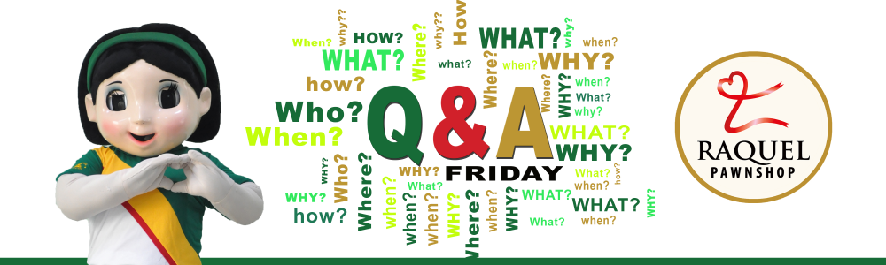 q and a friday banner